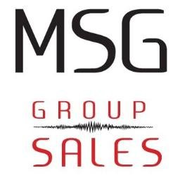 Welcome to the Family MSG Group Sales